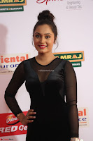 Vennela in Transparent Black Skin Tight Backless Stunning Dress at Mirchi Music Awards South 2017 ~  Exclusive Celebrities Galleries 061.JPG