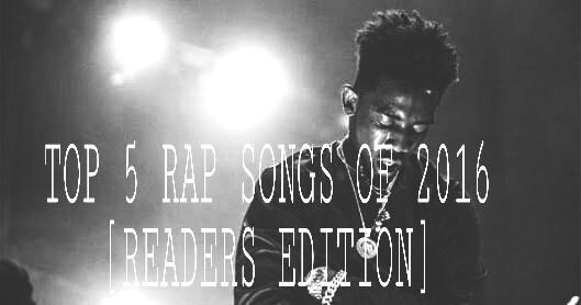 Best rap songs of 2016