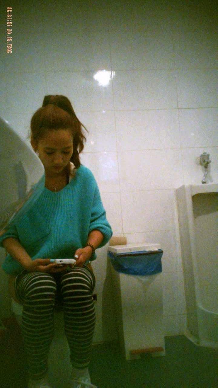 Asian Scandal Voyeur: University toilet 18