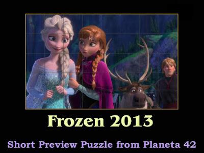Frozen 2013 Puzzle