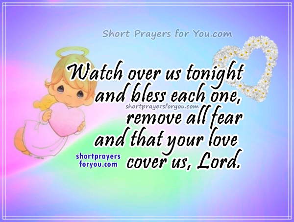 Prayer For The Family At Night Short Prayers For You