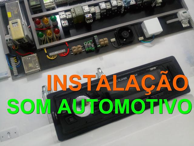 Como instalar SOM AUTOMOTIVO Super Fácil.