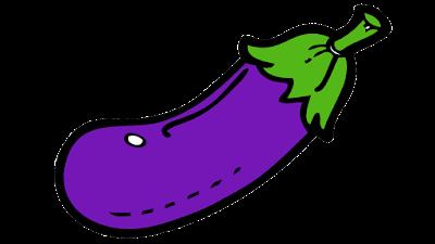 eggplant clipart free