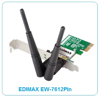 PIn PCI Express Wireless Network Adapter EDIMAX EW-7612PIn Wireless Driver | Direct Download Link | Windows,Linux