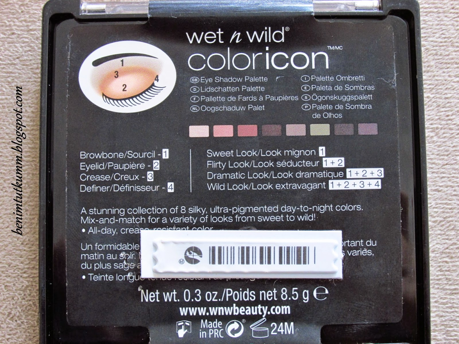 wet n wild comfort zone far paleti
