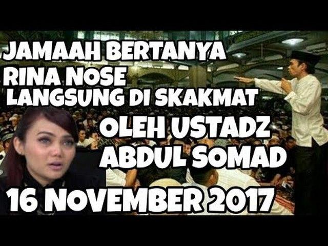"Alasan Rina Nose ""Buka Kerudung"" dimentahkan Ustadz Abdul Somad"