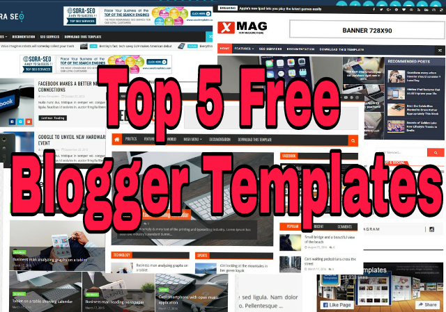 Top 5 Free blogger Templates 2018  Free Download Now  Technical
