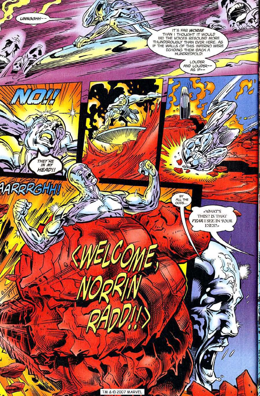 Read online Silver Surfer (1987) comic -  Issue #119 - 32