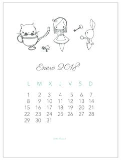 Descargable: Calendario de enero