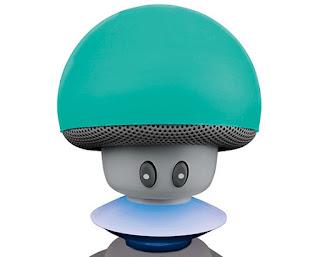 Głośnik Bluetooth Silvercrest grzybek z Lidla