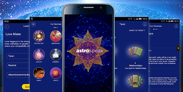 Astrospeak, the new app by Times Internet provides astrological services around career, personal and financial needs