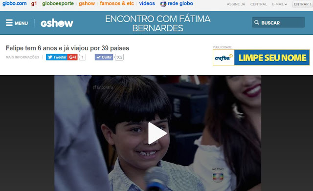 Programa Encontro com Fátima Bernardes