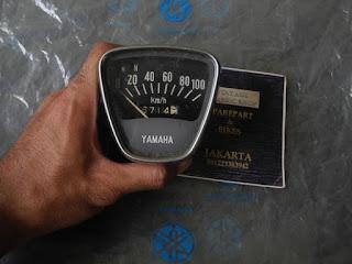 Bukalapak Part Motor Tua : Speedometer Yamaha U7E Tahun Tua
