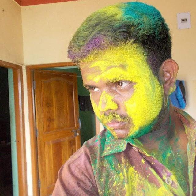 Sangram Keshari Senapati in Holi