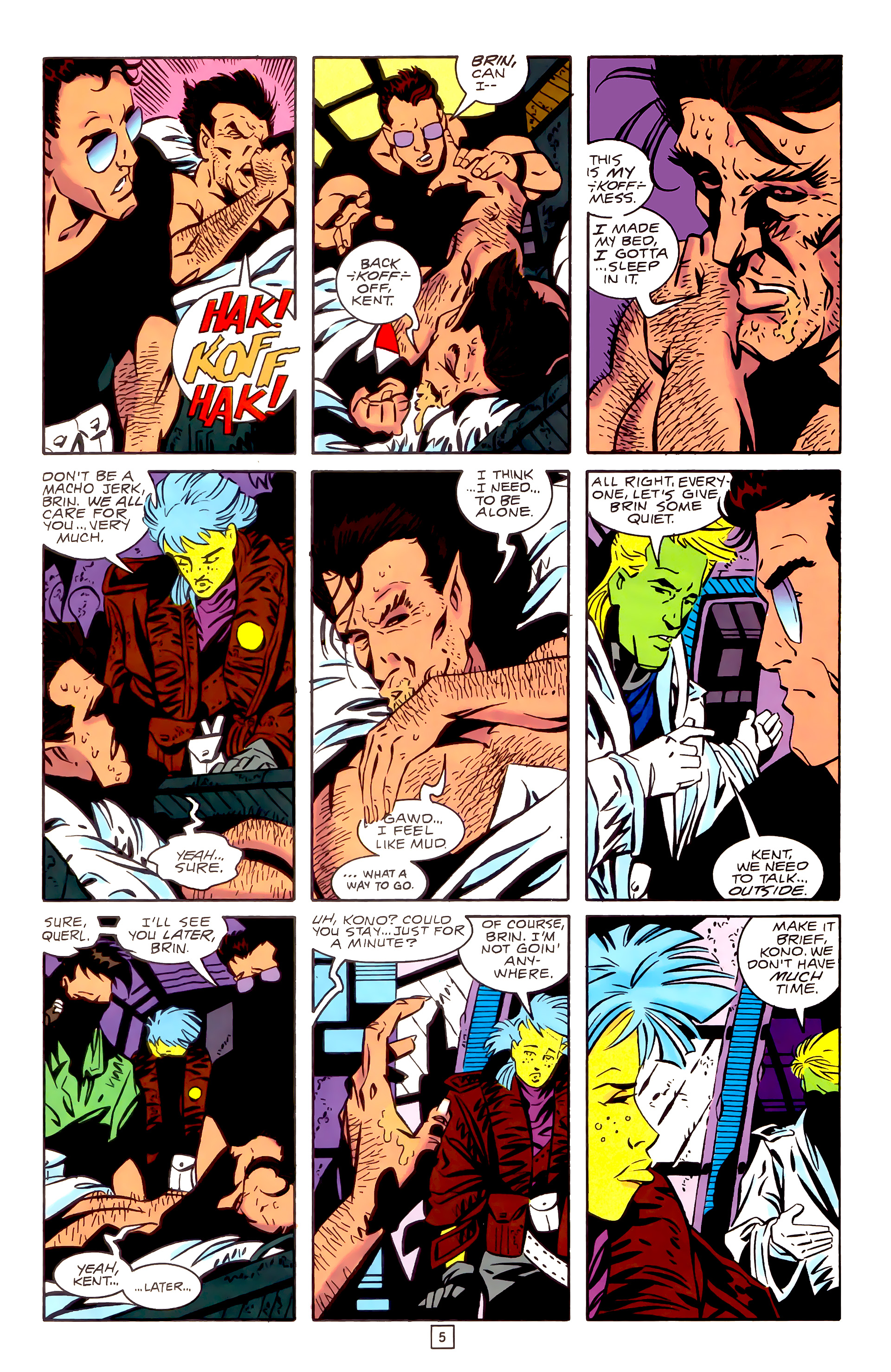 Legion of Super-Heroes (1989) _Annual_3 Page 5