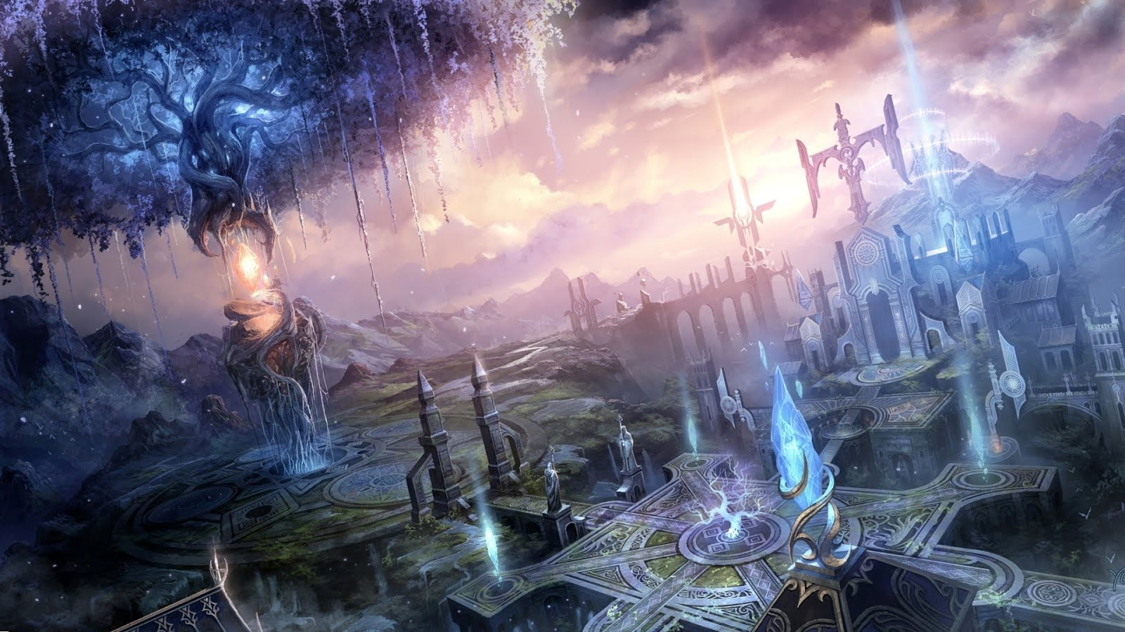 Magic Fantasy Wallpaper 1920x1080