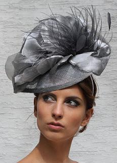 Bijou Sinamay Ascot Fascinator Hat