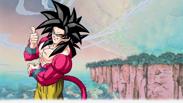 Dragon Ball GT Goku Super Sayan 4