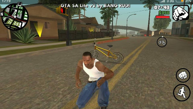 GTA SA: Lite V3 - Adreno - 210 MB APK+DATA by Bang Rudi