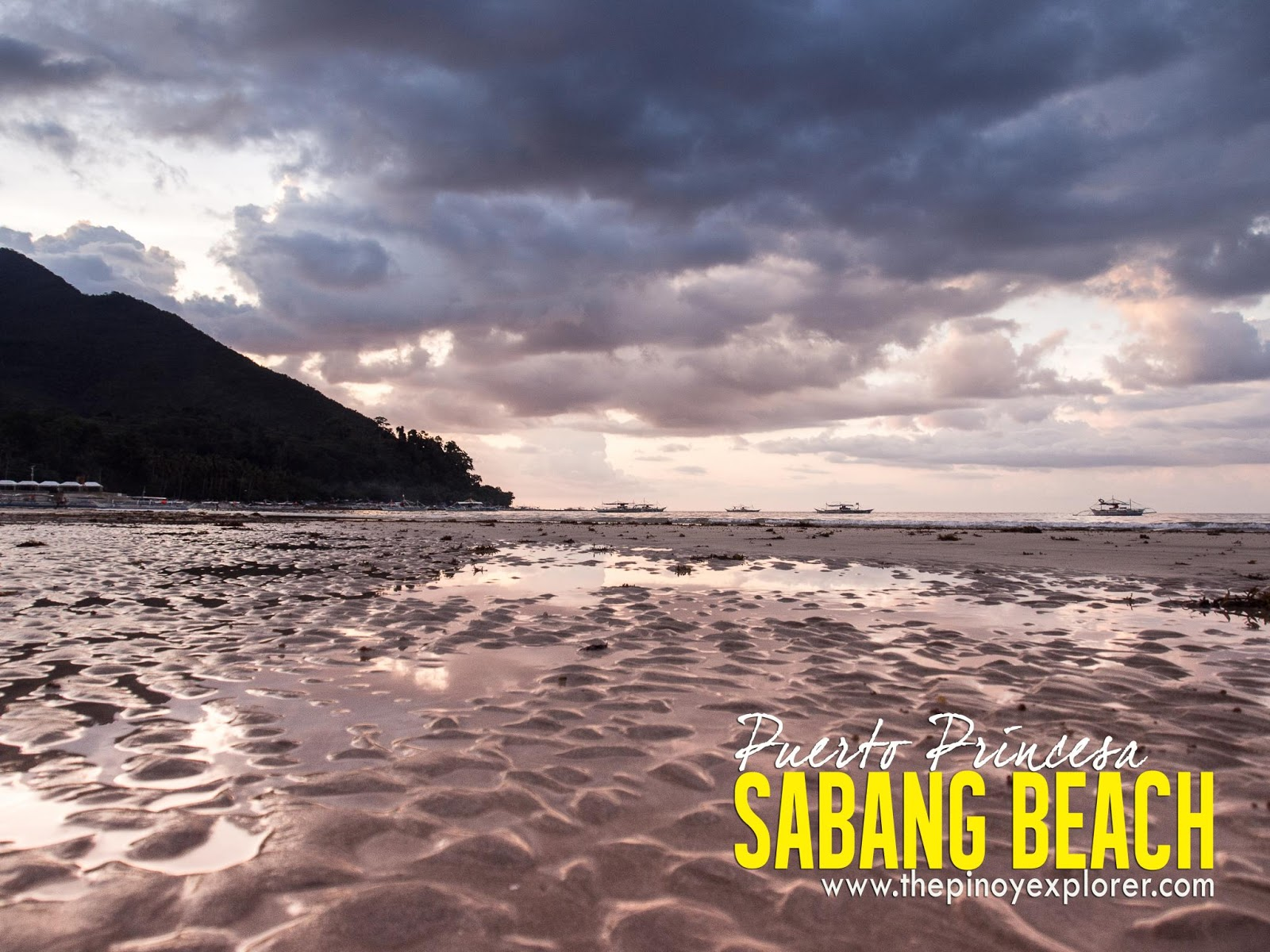 Palawan Rediscover Sabang Beach The