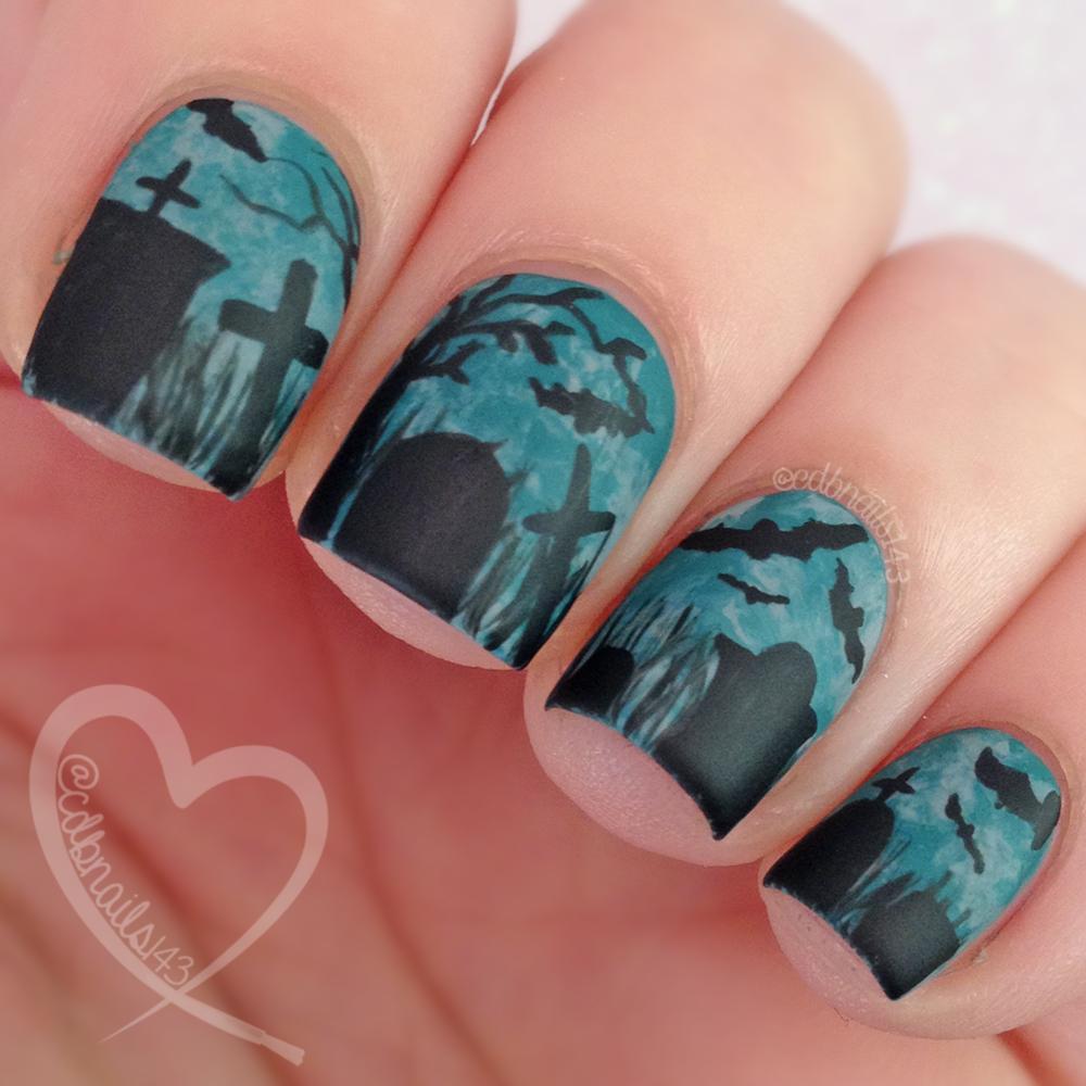 40 Great Nail Art Ideas Teal Saran Wrap Cdbnails