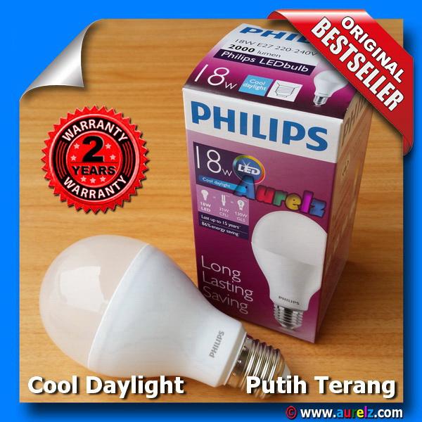 lampu led philips 18 watt cool daylight