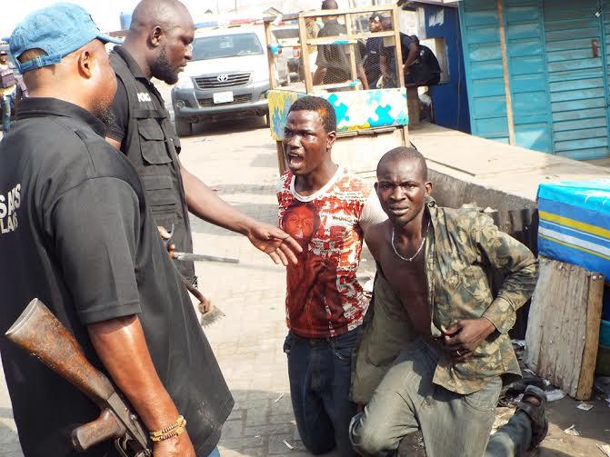 Clash in Lagos