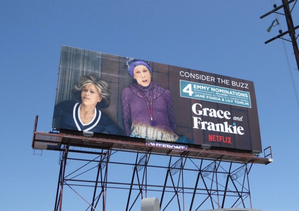 Grace Frankie 2017 Emmy nominations billboard
