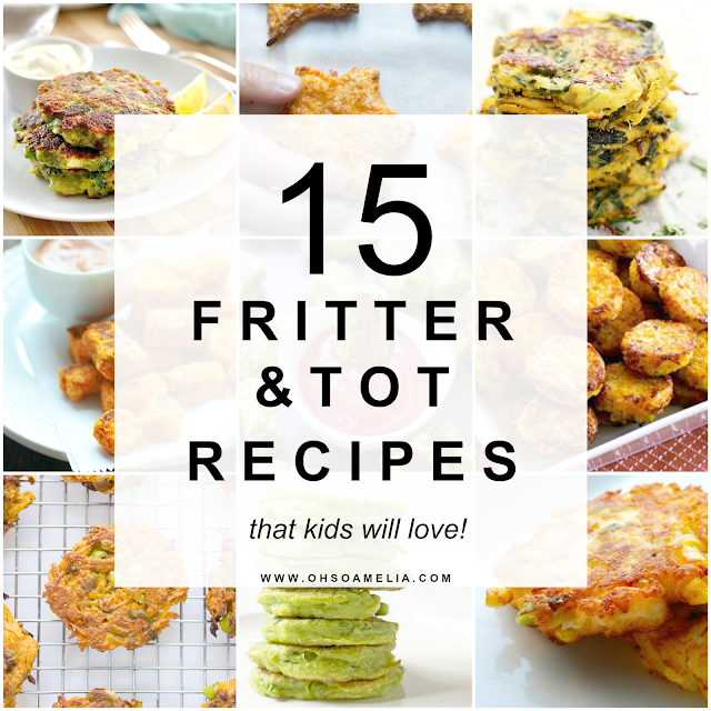 15 fritter and tot recipes that kids will love