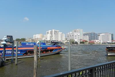 Rzeka Menam w Bangkoku