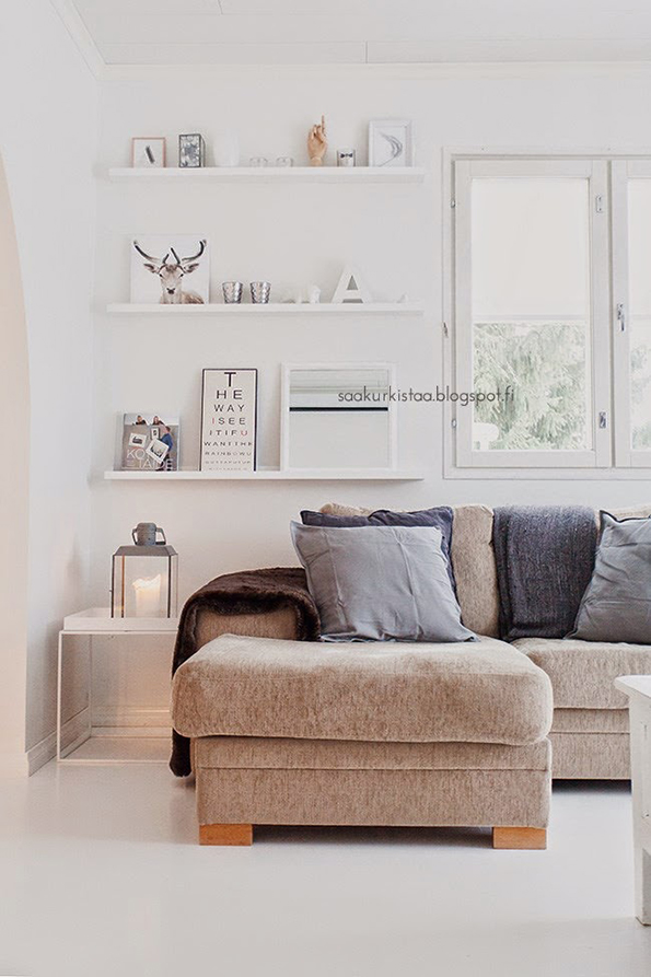Inspiraci n deco salones n rdicos y acogedores tr s for Design nordico on line