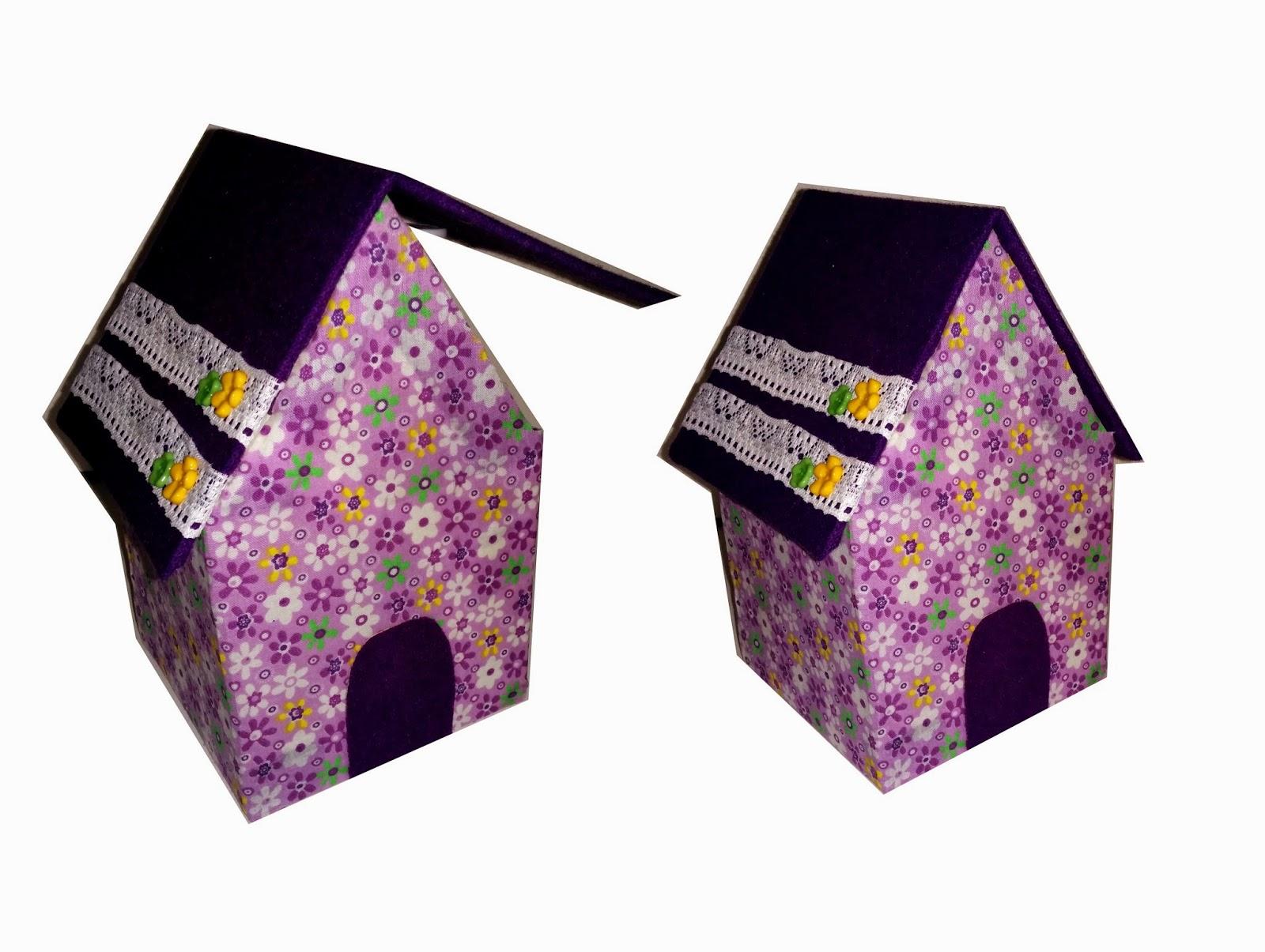 Manualidades Con Mis Manitas Haz Una Casa Cajita Reciclando Carton - Manualidades-con-materiales-de-casa