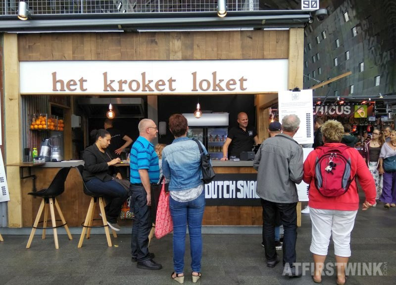 new in the markthal Rotterdam the Netherlands het kroketloket