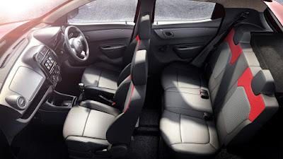 Renault Kwid 1.0 MT interior seat