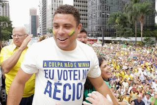 STF finalmente afasta Aécio Neves do Senado ronaldo fenomeno butijão dizendo que votou no Aecio Neves