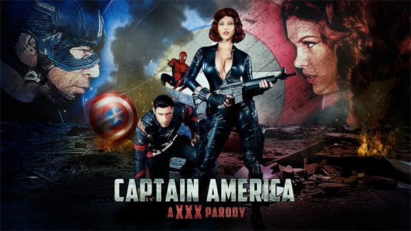 DigitalPlayground Peta Jensen Captain America A.XXX.Parody 2016
