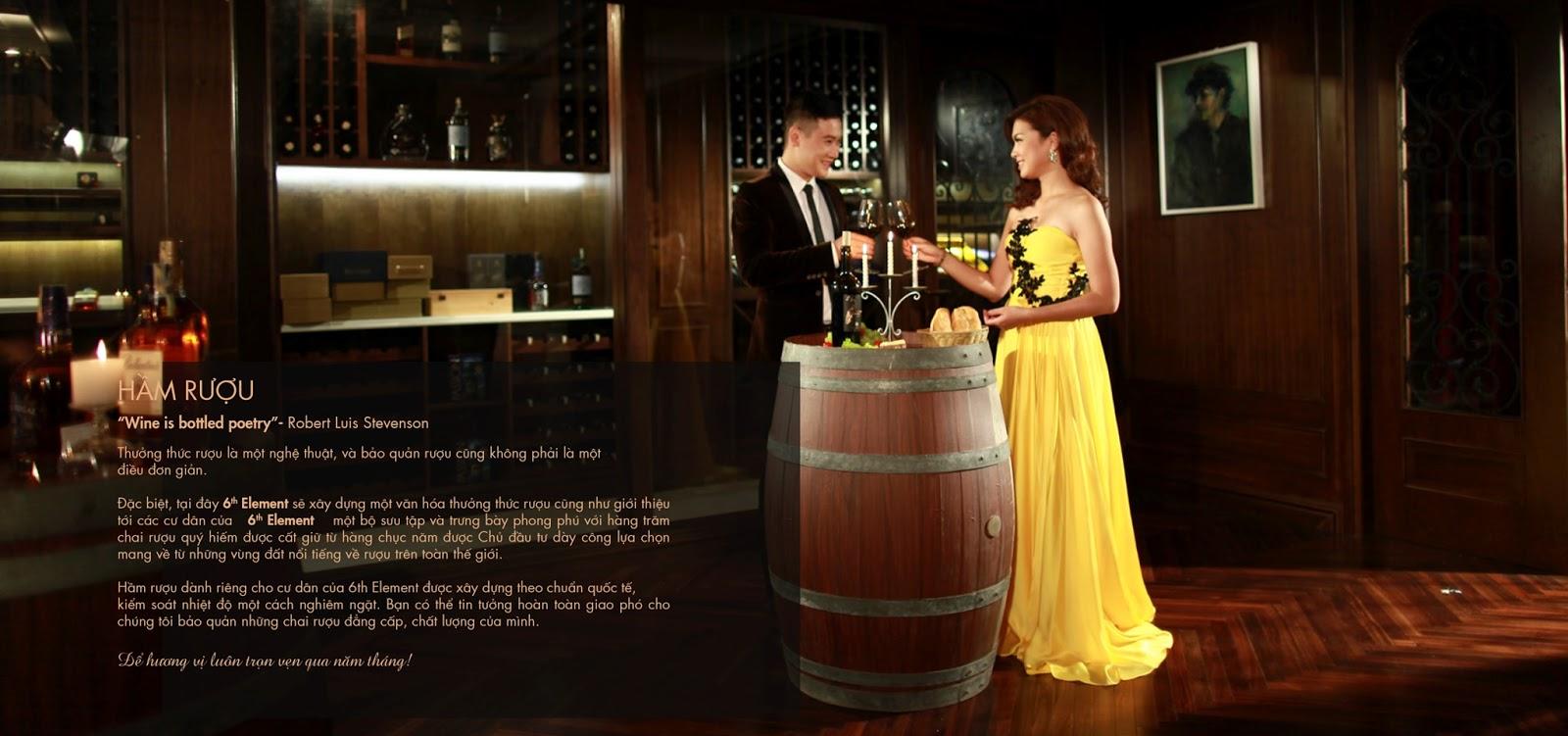 Hầm rượu là không gian thưởng thức nghệ thuật lãng mạn, yên tĩnh, riêng tư
