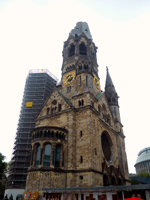 Kaiser Wilhelm Church, Berlin, Germany