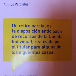 Afore retiro parcial - Un retiro parcial es la dispocisión anticipada de recursos la Cuenta Individual, realizado por el titular para alguno de los siguientes casos: