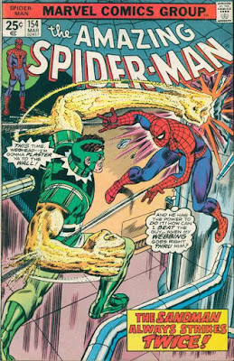 Amazing Spider-Man #154, Sandman