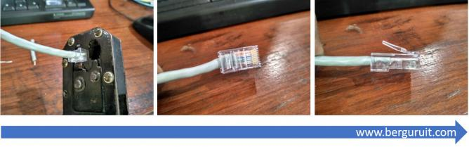 Cara Crimping Kabel LAN