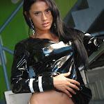 Andrea Rincon, Selena Spice Galeria 5 : Vestido De Latex Negro Foto 158