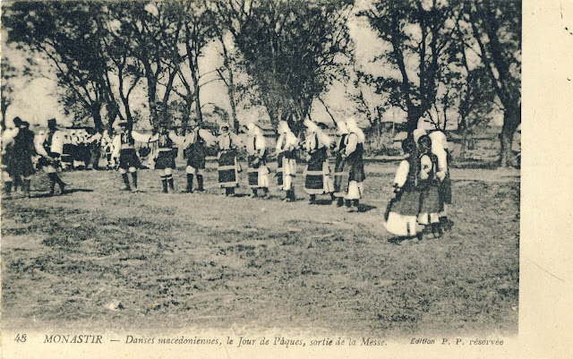 Macedonian Easter dance.