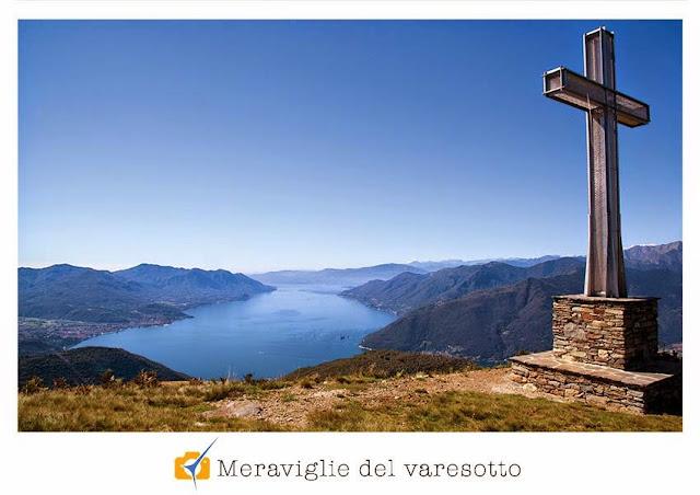 Il lago Maggiore dal monte Cadrigna