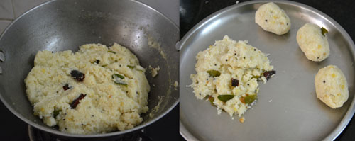 how to make upma kolukatai