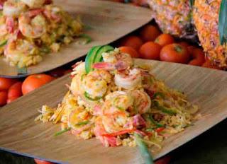 Cocina Ecuatoriana - Arroz con Camarón
