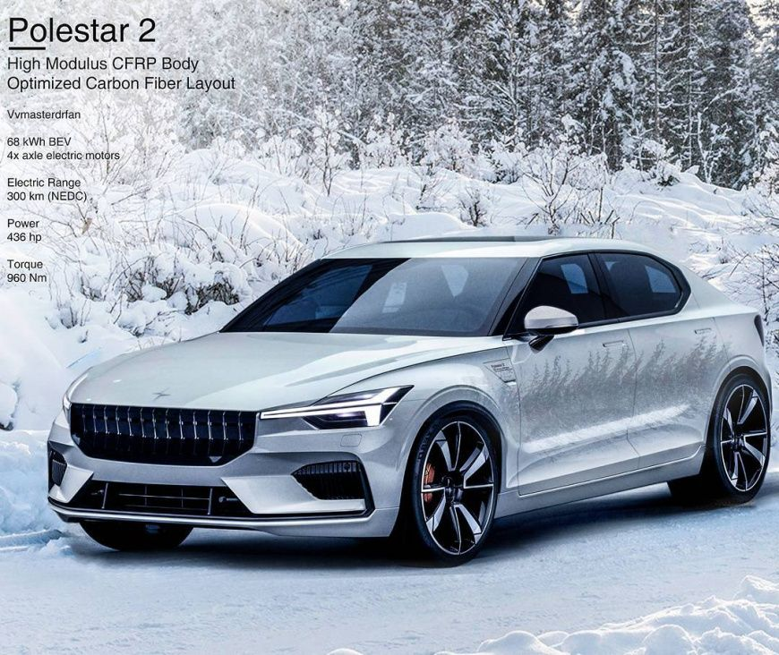 Polestar Reveals New Polestar 2: Volvo S40 / Polestar 2 2020: Weitere Informationen Zum