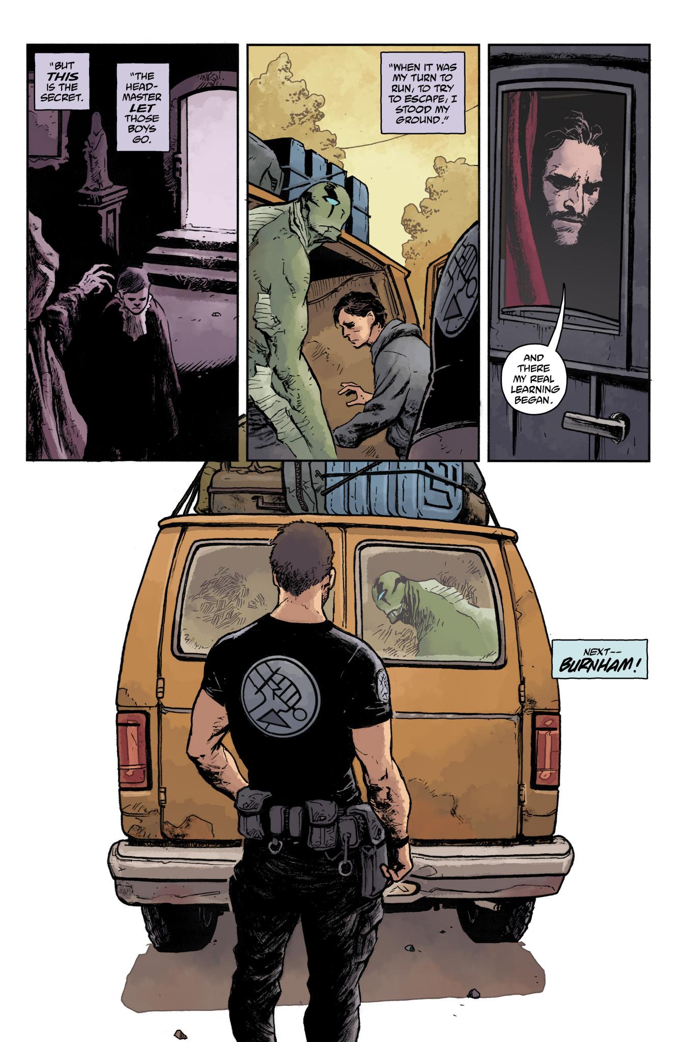 Read online Abe Sapien comic -  Issue #17 - 24
