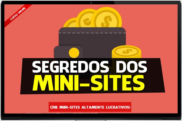 →Curso Segredos dos Mini Sites Funciona com Rosana Silva
