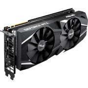 Asus Dual DUAL-RTX2080-O8G GeForce RTX 2080 Graphic Card - 8 GBGDDR6 - Triple Slot Space Required - 256 bit Bus Width - Fan Cooler - OpenGL4.5, DirectX 12 - 3 x DisplayPort - 1 x HDMI - PC